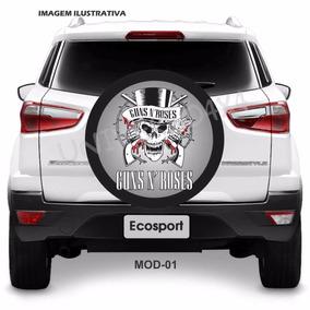 Capa Estepe Spin Activ Ecosport Guns N´ Roses Rock M-01
