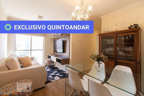 Apartamento No 4º Andar Com 2 Dormitórios E 2 Garagens - Id: 892956107 - 256107