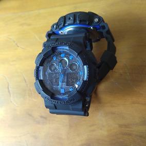 Relógio Shock Automático Digital Analógico Com Caixa