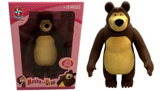 Brinquedo Boneco Urso Do Desenho Da Masha Original Estrela