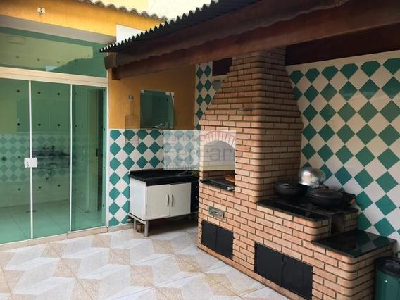 Lindo Sobrado -3 Dormitórios , 2 Suítes E 2 Vagas - Cf22678