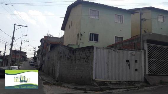 Casa Com 2 Dormitórios Para Alugar, 68 M² Por R$ 1.200/mês - Vila Bela - Franco Da Rocha/sp - Ca0485