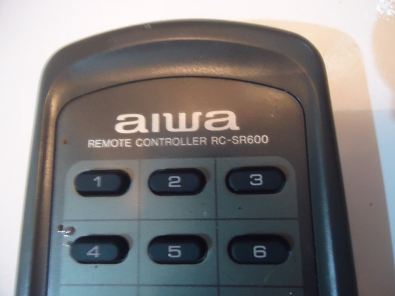 Controle Som Aiwa Rc-sr600