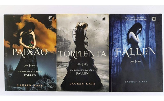 Série Fallen Lote Com 5 Livros - Lauren Kate