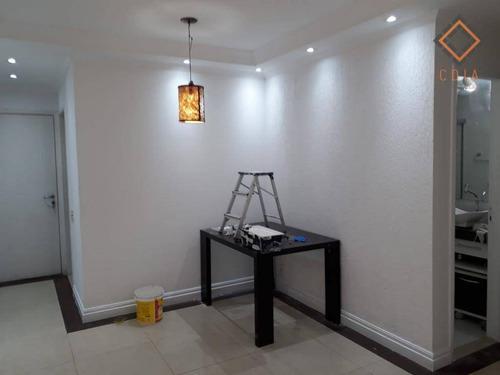 Apartamento Com 3 Dormitórios À Venda, 65 M² Por R$ 380.000,00 - Cambuci - São Paulo/sp - Ap42302