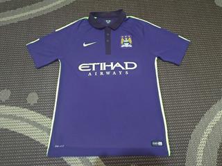 Camisa Manchester City 3° Uniforme 2014/2015 Original