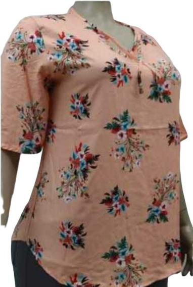 Blusas / Camisas Fibrana Mujer - Talles Grandes Y Especiales