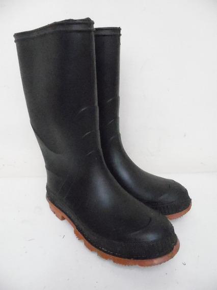 Botas Hule Agua Lluvia Niño 21cm 3 Usa K166
