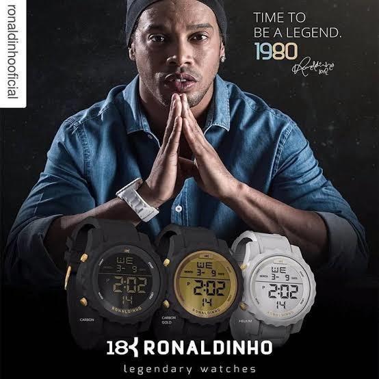 Relogio 18k Do Ronaldinho Apro Dàgua.