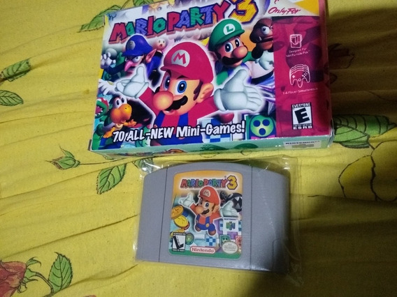 Mario Party 3 + Caixa Réplica N64