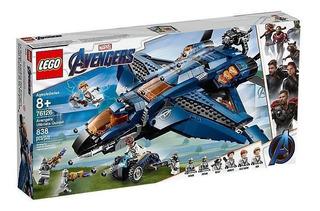 Lego Avengers Quinjet Definitivo De Los Vengadores 76126
