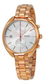 Reloj Fossil L Racer Ch2977 Mujer   Original   Agente Of.