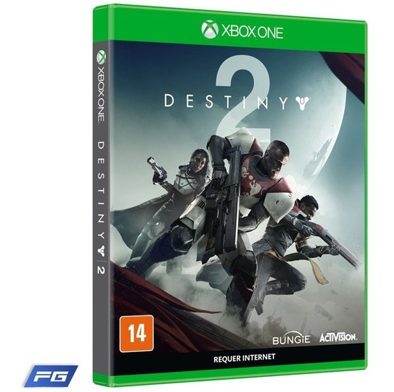 Jogo Destiny 2 Xbox One Mídia Física Pt Br