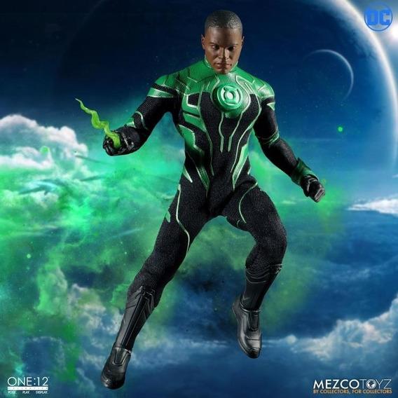 Mezco One:12 Collective Green Lantern (john Stewart)