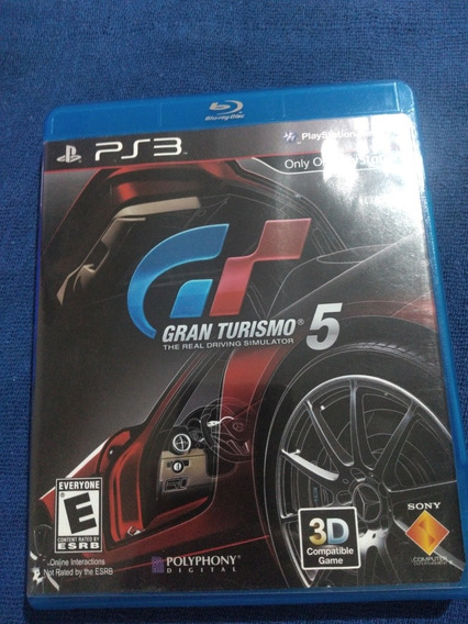 Gran Turismo 5 Ps3 Bluray
