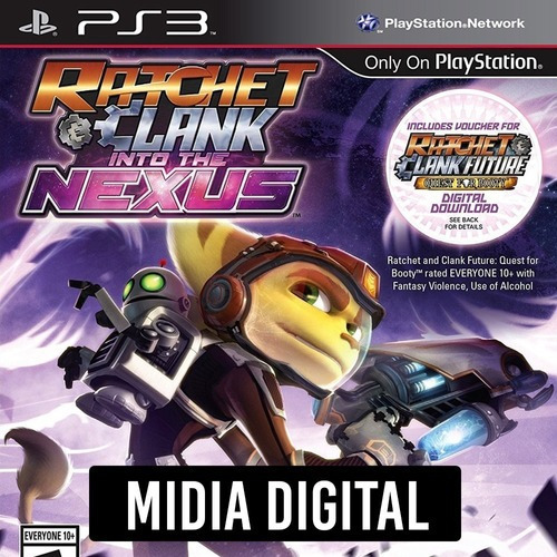 Ps3 Psn* - Ratchet & Clank Into The Nexus + Quest For Booty