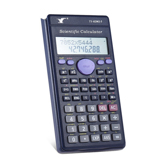 Contador Calculadora Científica 240 Funções 2 Line Lcd