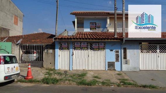 Sobrado Residencial À Venda, Vila Real Continuaçao, Hortolândia. - So0001
