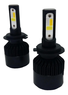 Kit Cree Led X12 H4 3 Colores Azul Amarillo Blanco 32000lm