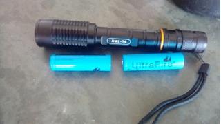 Lanterna Tatica 2 Baterias Recaregavel