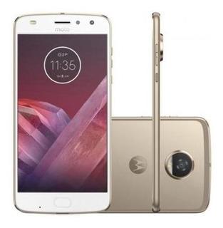 Motorola Moto Z2 Play Xt1710-08 4gb/64gb Lte Gold Sim Dual