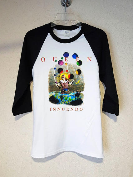 Queen Innuendo Polera 3/4 Rock Abominatron