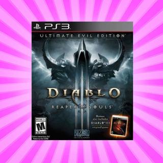 Diablo 3 (iii) Reaper Of Souls Ultimate Evil Ed- Ps3 Digitai