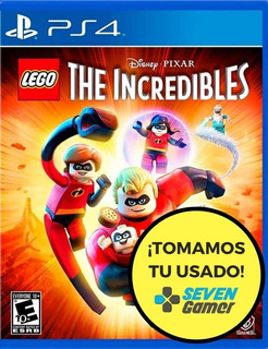 Lego The Incredibles Juego Playstation 4 Increibles Nuevo