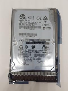 "713964-001 HP 600GB 10K 2.5/"" SAS 6G SC ENT HDD 693569-003 EG0600FCVBK"