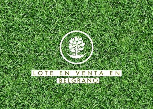 Imagen 1 de 4 de Oportunidad Lote En Belgrano