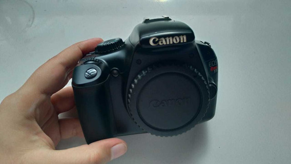 Câmera Dslr Canon T3 + Lente Canon 18- 135mm + Brinde