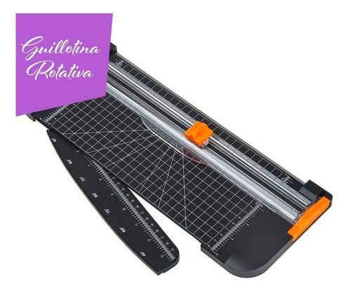 Guillotina Rotativa De Presicion Portatil Cortadora Papel