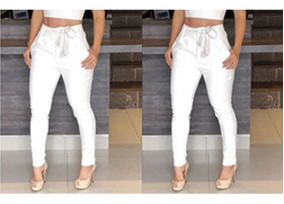 Calça Plus Size Clochard M Ao Exg (veste 40 Ao 60)