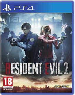Resident Evil 2 Ps4. Fisico, Nuevo Y Sellado. Español