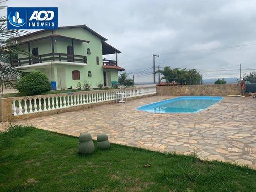 Chácara Com 3 Dormitórios À Venda, 1050 M² Por R$ 600.000,00 - Copaco - Arujá/sp - Ch0045