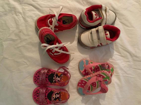 Zapatos De Bebé Marca adidas, Vans, Y Cholitas Ipanema