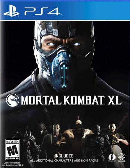 Mortal Kombat Xl Ps4 Psn Code 1 Dublado Envio Na Hora!
