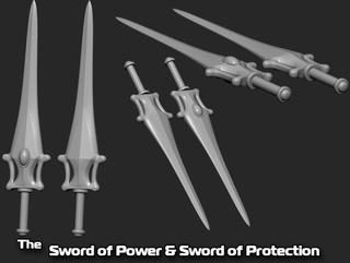 Espadas De He-man Para Cosplay Impresión 3d (no Cotillón)