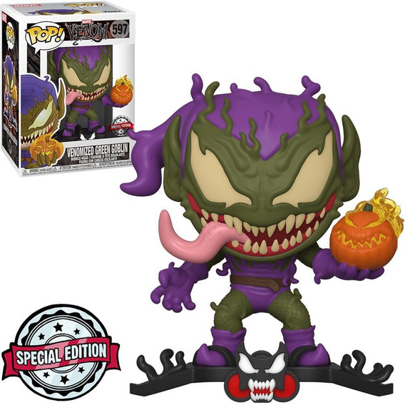 Funko Pop Marvel Venom Exclusive Venomized Green Goblin 597