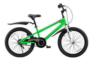 Bicicleta Royal Baby Freestyle Rodado 20 7 A 9 Años