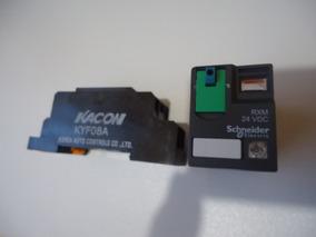 Base Kacon Kyf08a E Relé Schneider Rxm 24vdc