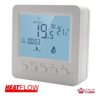 Termostato Digital Programable Heat Flow System Para Caldera