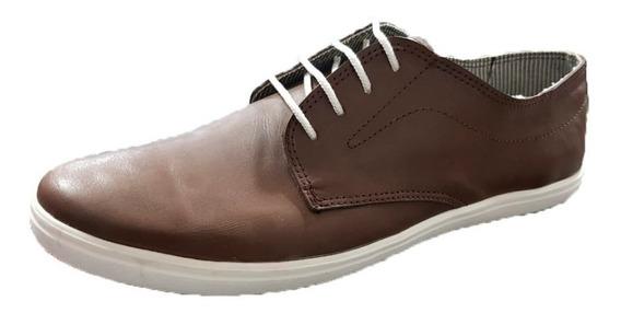 Zapatilla Casual Cuero Tipo Zapato (1220)