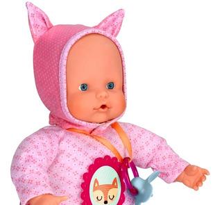 Nenuco Bebe Muñeca Soft Con Sonidos 5 Funciones Y Accesorios