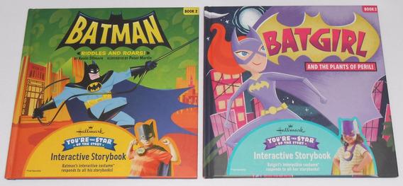 Hallmark Batman Riddles + Batgirl Plants Livros Interativos