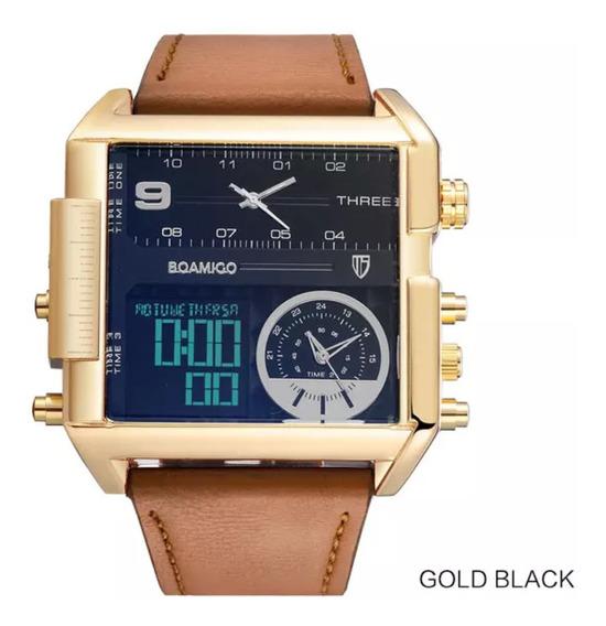Relógio Masculino Importado O Presente Do Seu Pai