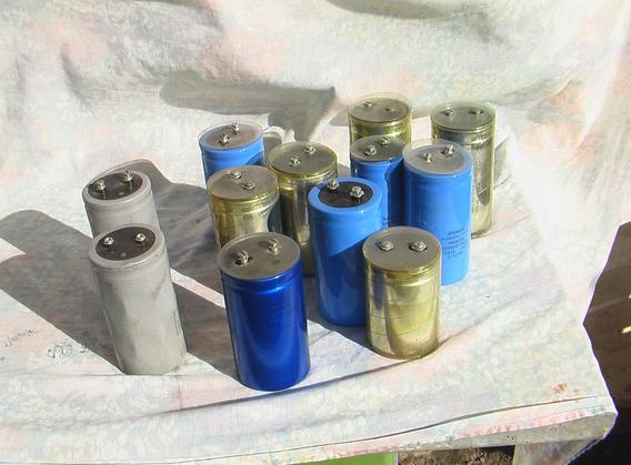 Capacitor Electrolitico Alta Denominación
