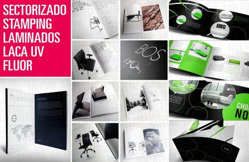 Impresiones Digitales Laser Ofset Bajadas Flyers Folletos Dipticos Tripticos Catalogos Revistas Brochures Carpetas Sobre