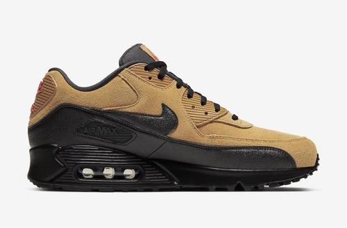Tenis Nike Air Max 90 Essential Café,negro,original 100%