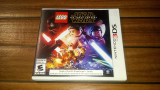 Star Wars The Force Awakens 3ds